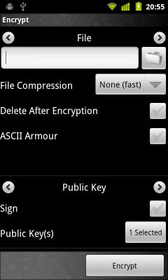 Шифрование файлов в Android