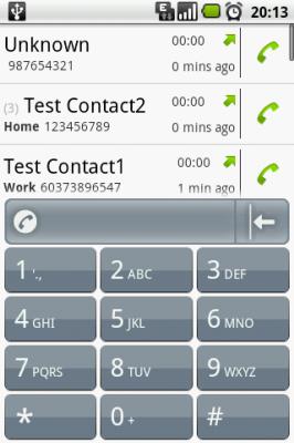поиск контактов по номеру телефона